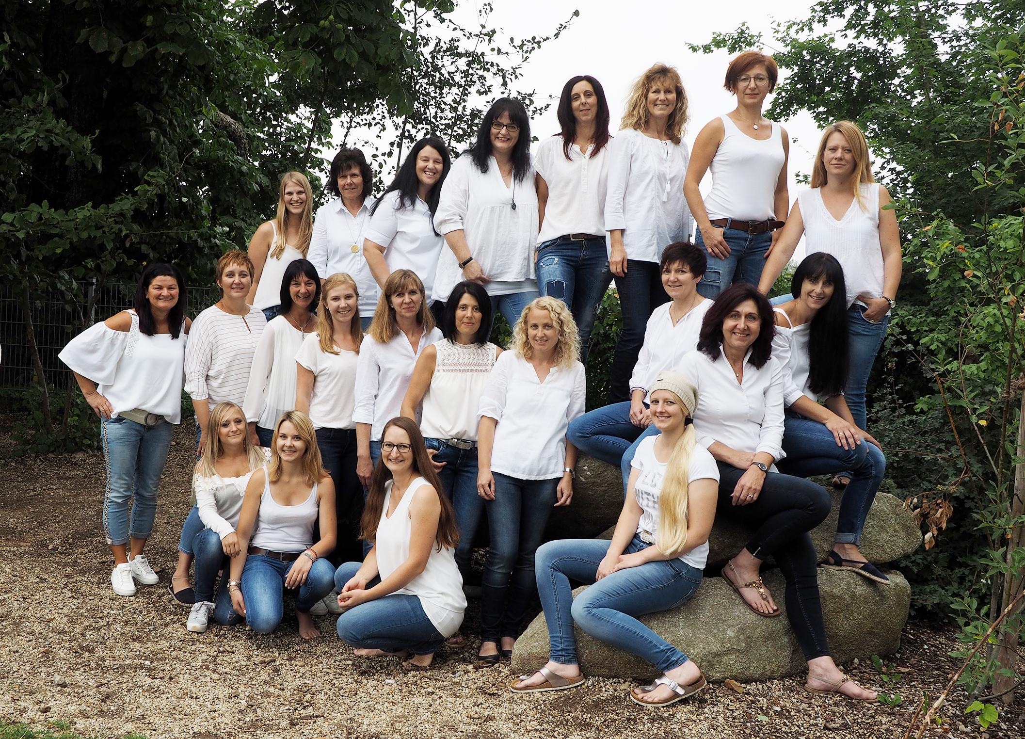 Das Team des Kindergartens in Neureichenau